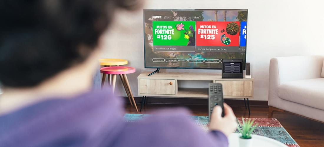 Fortnite features its Living APP on Movistar+