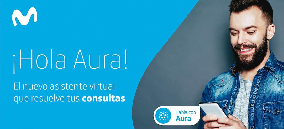 Artificial Intelligence Aura reaches Movistar Ecuador to simplify the relationship with the Company