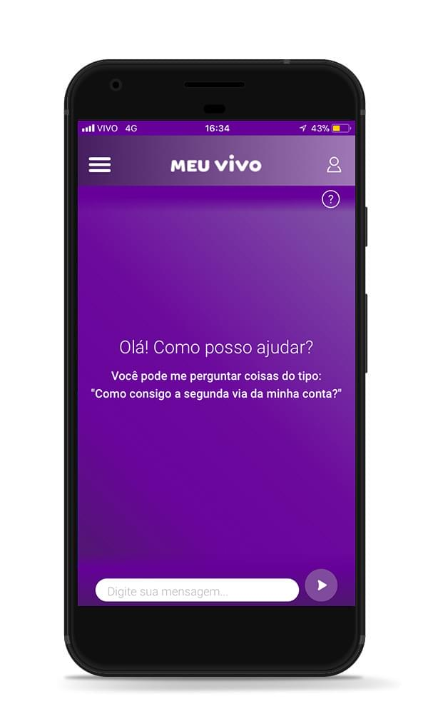 Connect with me through the Meu Vivo Fixo app